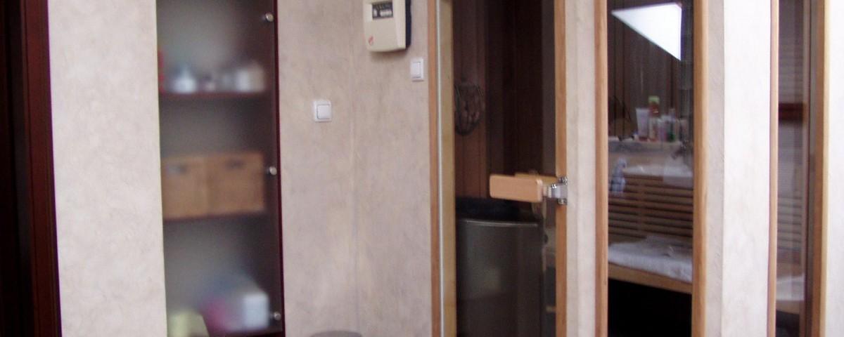 Portfolio realizacja sauny prywatnej foto 1