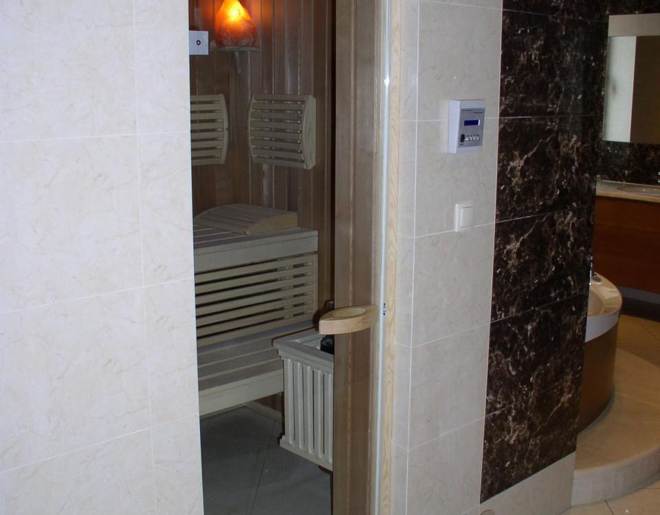 dopasowanie sauny do pomieszczenia
