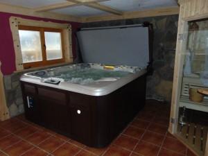 sauna i minibasen spa Sundance Spas Altamar